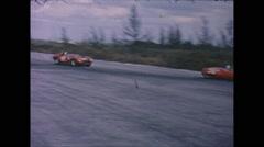 Vintage 16mm film, race George Reed Ford Holman & Moody Ferrari 250TR, 1963 Stock Footage