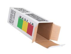 Concept of export - Product of Mali - stock photo