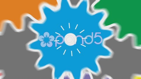 After Effects Project - Pond5 Gears Logo Reveal 49732671