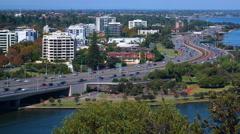 Perth, WA, Australia: Tima lapse Stock Footage