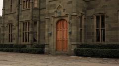 CRIMEA. APRIL 2011: Vorontsovskiy Palace Stock Footage