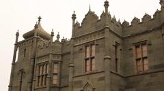 CRIMEA. APRIL 2011: Vorontsovskiy Palace - stock footage