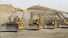 Caterpillar Dozer Stock Footage