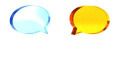Conversation negotiation areement Illustration video Stock Footage
