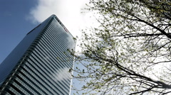 London Docklands: HSBC Tower - stock footage