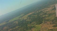 Beautiful Aerial of Rural Zambia ZAMBIA- CIRCA May, 2009 Stock Footage