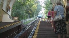 UKRAINE. KIEV. AUGUST 2011: _ity streets Stock Footage