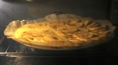 Apple pie Stock Footage