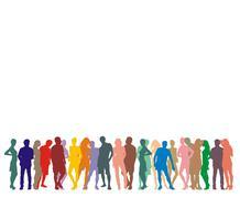 Human Figures - stock illustration