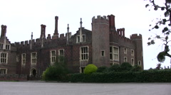 Turrets on building at Hampton Court Palace Stock Footage