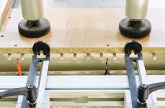 woodworking machine - stock photo