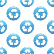 Stock Illustration of Recycling sign pattern