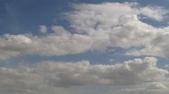 Sunny day sky timelapse 4K Stock Footage