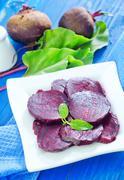 Boiled beet Stock Photos