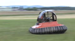 Hovercraft - stock footage