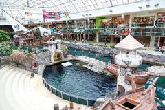 West Edmonton Mall in Alberta, Canada - stock photo