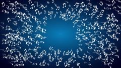 Music, Video animation - stock footage