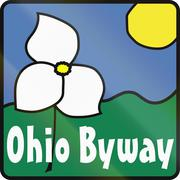 Ohio Scenic Byway Stock Illustration