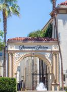 Paramount Pictures Entrance and Sign - stock photo