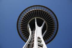 Stock Photo of USA Landmark: Seattle Space Needle