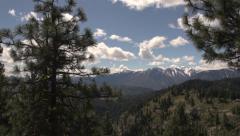North Washington Cascade Scenic Shot Stock Footage