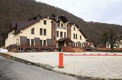 Hotel in Gorky Gorod resort - stock photo