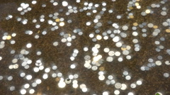 Coins in a Fountain Stock Footage