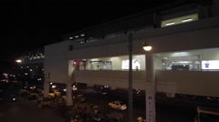 Metro station in Gurgaon, Haryana Stock Footage