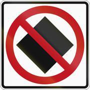 No Dangerous Goods In Canada - stock illustration