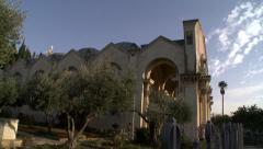 Garden of Gethsemane Stock Footage