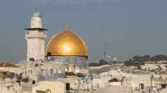 Dome of the Rock, Jerusalem Stock Footage