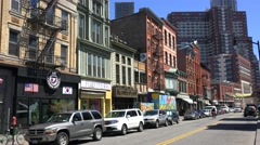 Types of downtown Jersey City. Stock Footage