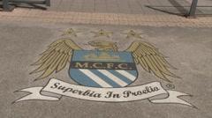 Etihad Stadium Entrance Stock Footage