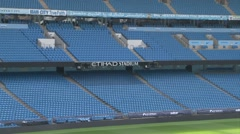 Manchester City Etihad Stadium Stock Footage