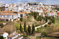 White Town of Ronda Stock Photos