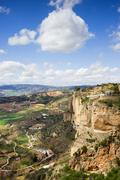 Andalusia Landscape in Spain - stock photo