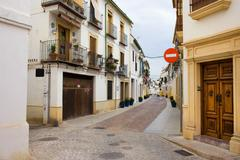 Cordoba Old Town Houses - stock photo