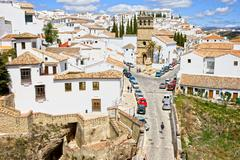 Ronda Town in Andalusia Stock Photos
