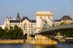 Budapest Historic Architecture - stock photo