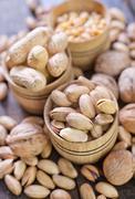Nuts Stock Photos