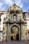 Saint Paul Church in Cordoba - stock photo