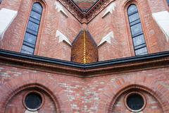 Buda Reformed Church Architectural Details Kuvituskuvat