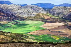 Andalucia Landscape in Spain - stock photo