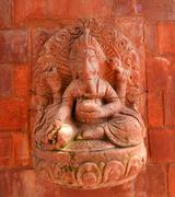 Sculpture of Shiva the destroyer in Pashupatinath, Nepal, Stock Photos