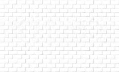 Brick wall background in white tone Stock Photos