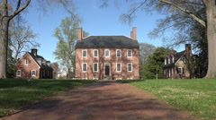 Fredericksburg Virginia Historic Kenmore Plantation 4K Stock Footage