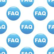 Stock Illustration of FAQ sign pattern