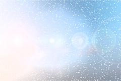 abstract sky background nature with flare - stock illustration