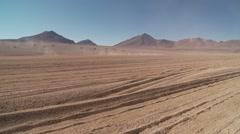 Barrend Land, Altiplano, Bolivia Stock Footage