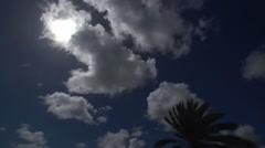Stock Video Footage of Antigua Dark Sky Timelapse
